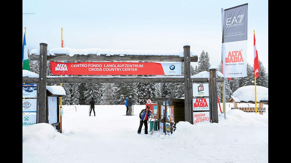 Langlaufzentrum Alta Badia in San Cassiano