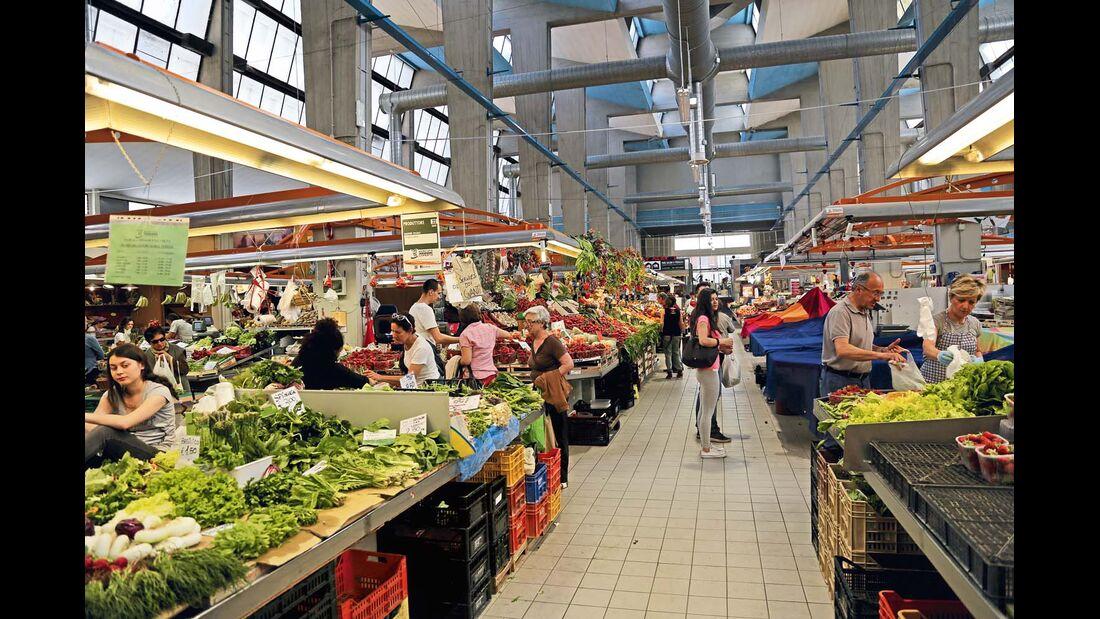 Markthalle von Rimini