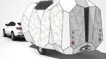 Mehrzeller Studie Wohnwagen Caravan CARAVANING