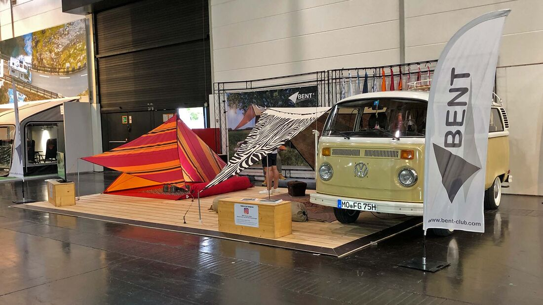 Messe-Rundgang Caravan Salon