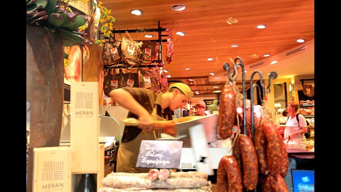 Metzgerei Siebenförcher, Traditionsbetrieb in Meran.