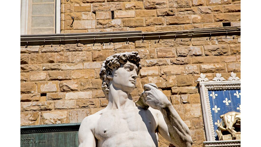 Michelangelos David-Skulptur