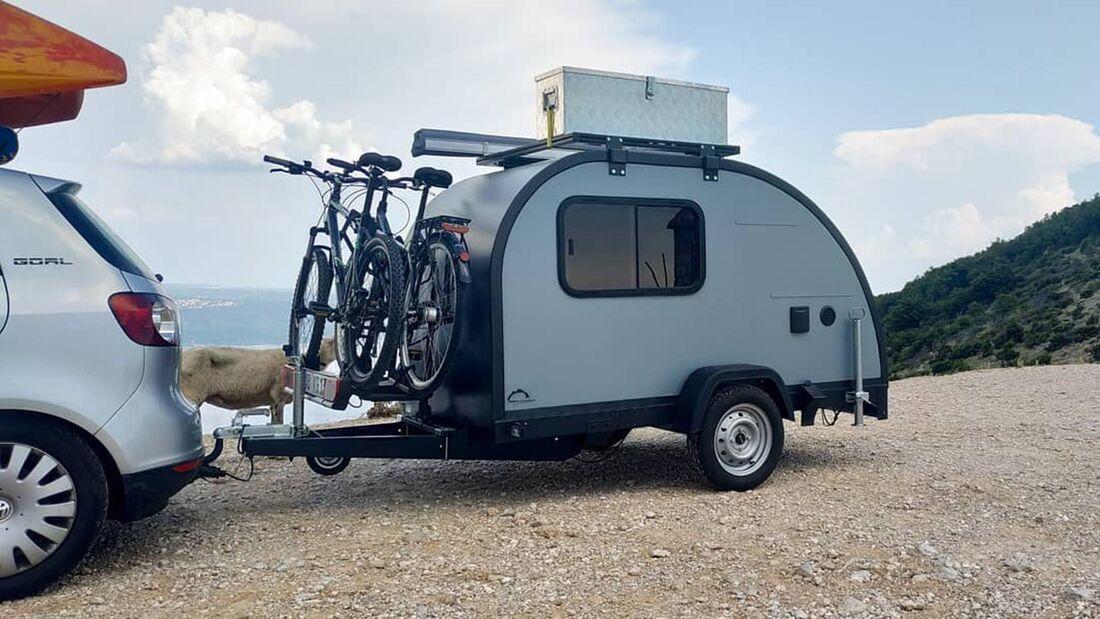 Minatouring Teardrop Caravan (2022)