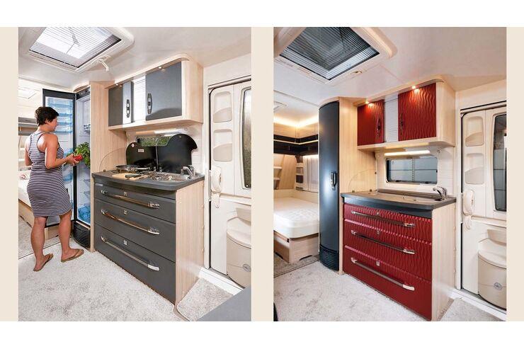Wohnwagen-Möbel individuell gestalten mit Folie - Caravaning