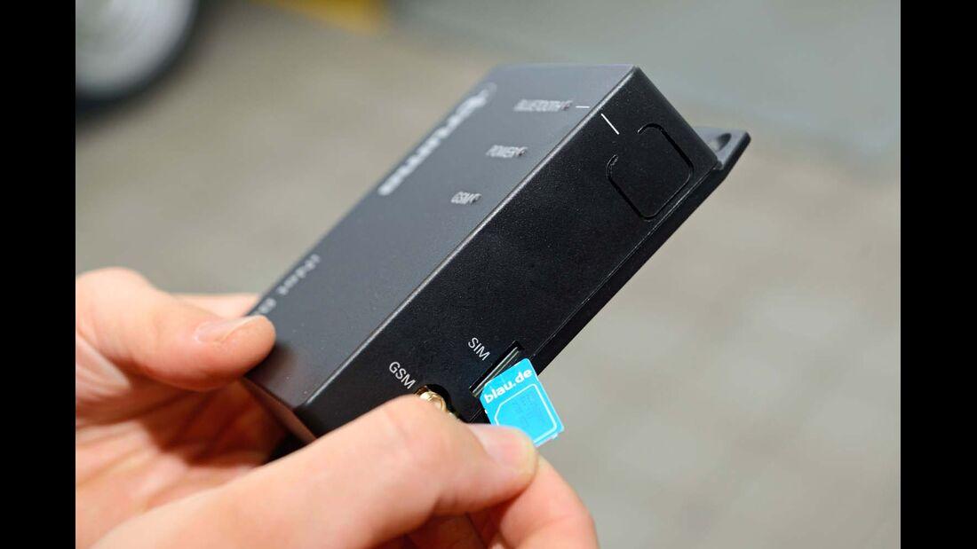 Mit einer SIM-Karte kann die iNet-Box von Truma Daten senden und empfangen.