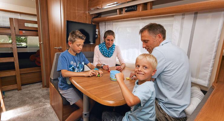 Fendt Etagenbett Kinderzimmer : Der fendt saphir mit dem familienmodell skm im test caravaning