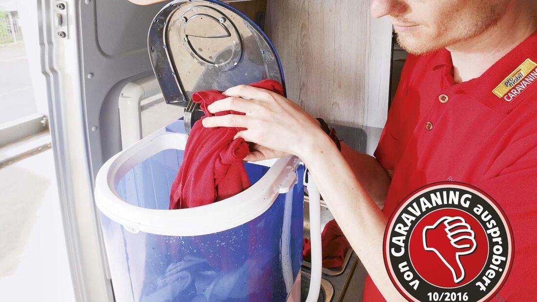 Mobile Waschmachine