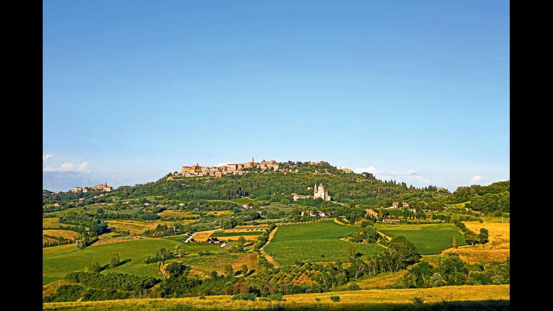 Montepulciano ist besonders unter Weinkennern bekannt.