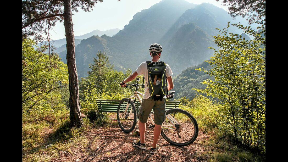 Mountainbike-Tour im Hinterland des Gardasees