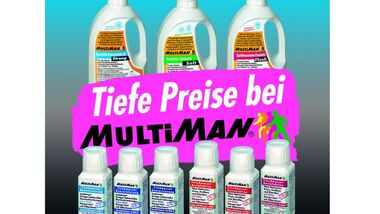 MultiMan rechnet mit scharfen Stift und präsentiert eine breite Produktpalette mit Rabatten zu schlanken Preisen