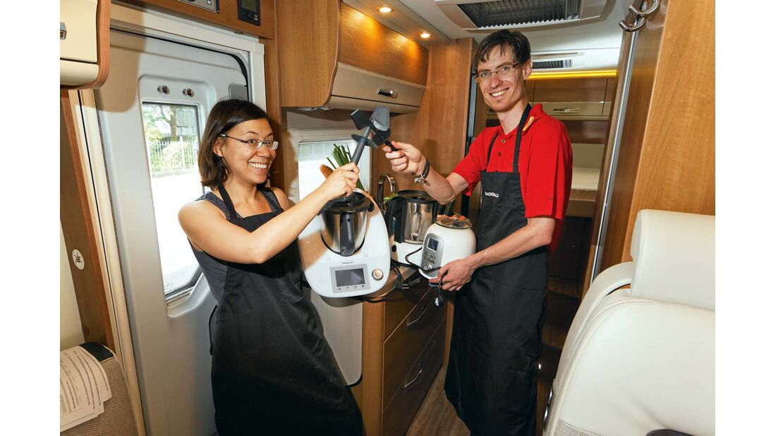 Multikocher Gourmetmaxx und Thermomix