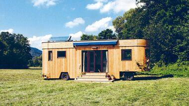 Nachhaltiger Wohnwagen