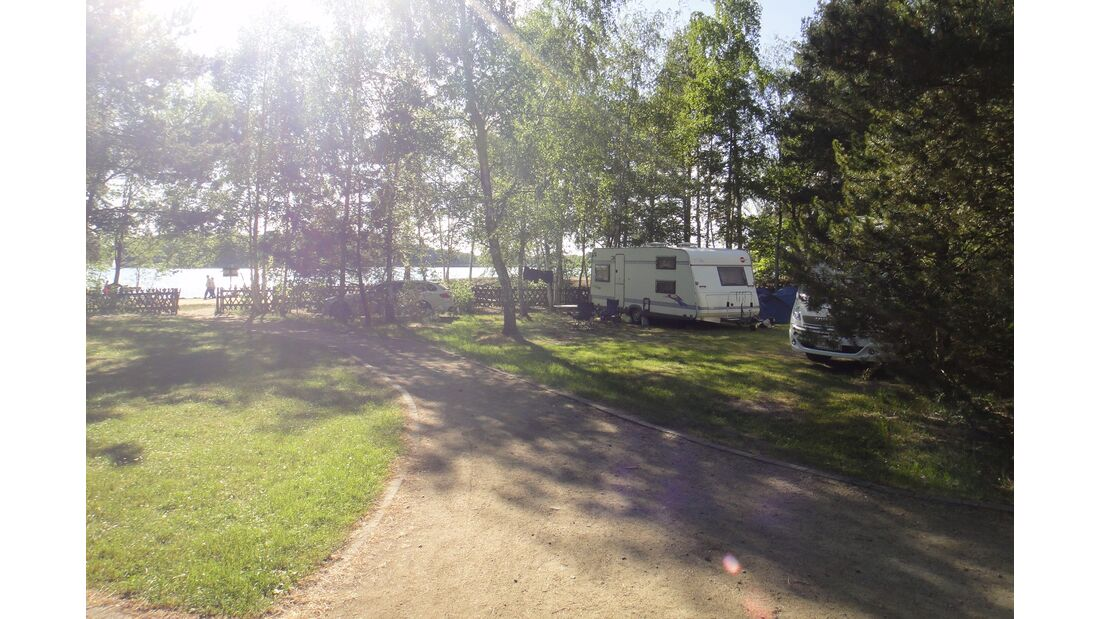 Naturcampingplatz am Olbasee