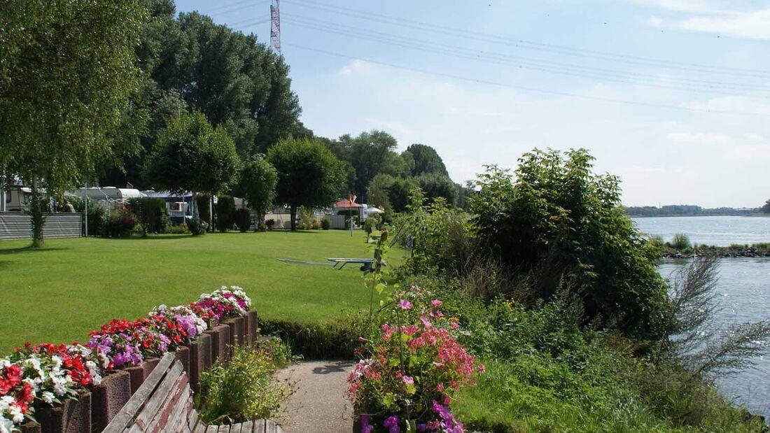 Neanderland - Camping Rheinblick in Monheim