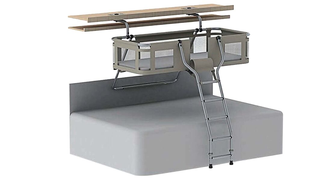 Neu im Sortiment von Doremas Zubehörmarke DEFA ist das Wohnwagenbett Uwis.