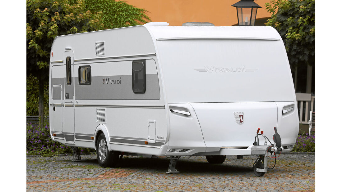 Neue Grundrisse und selbstnachstellende Trommelbremsen bei Tabbert-Caravans des Modelljahres 2016