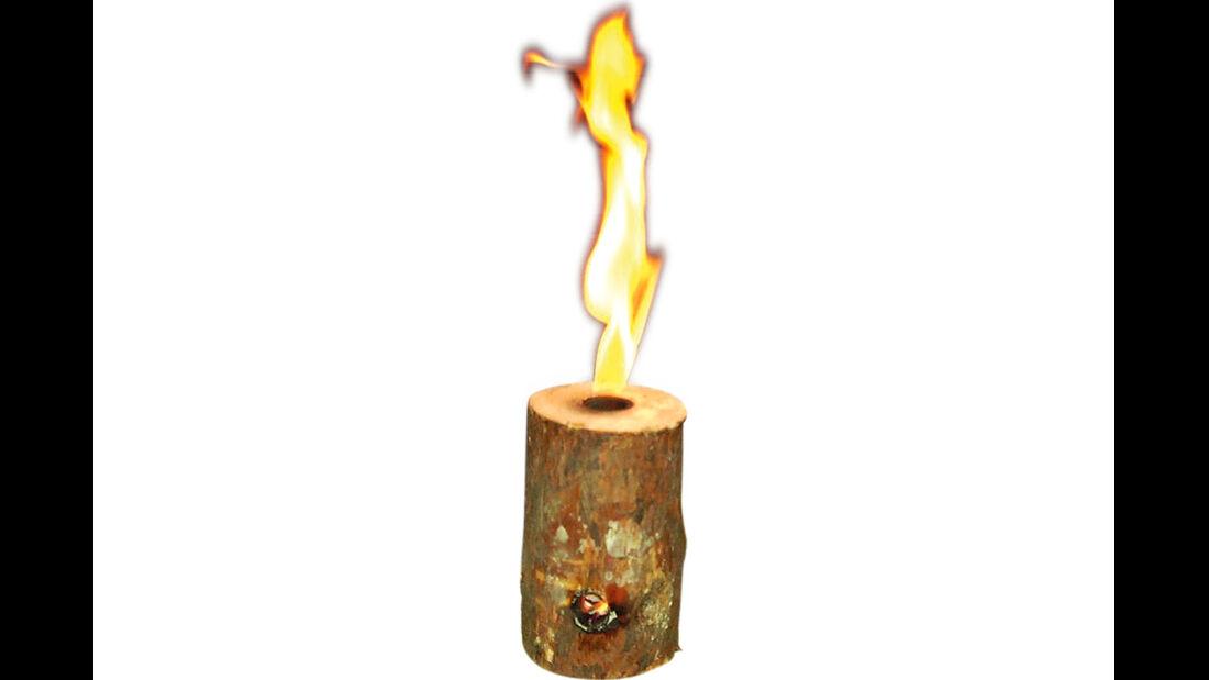 Nordisch effizient ist das Lagerfeuer.