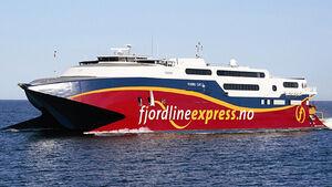 Norwegen Fjord Cat Hirtshals Kristiansand Caravan