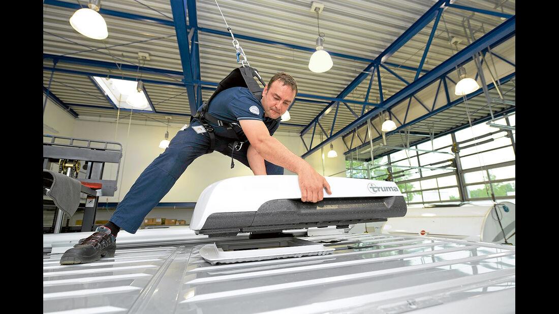 Nur mit Klimaanlage tut die Klimaautomatik ihren Dienst.