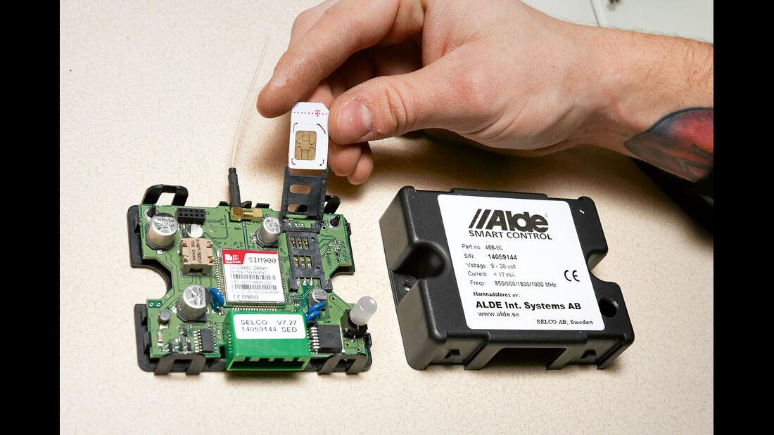 Ohne die SIM-Karte funktioniert die Smart Control nicht.