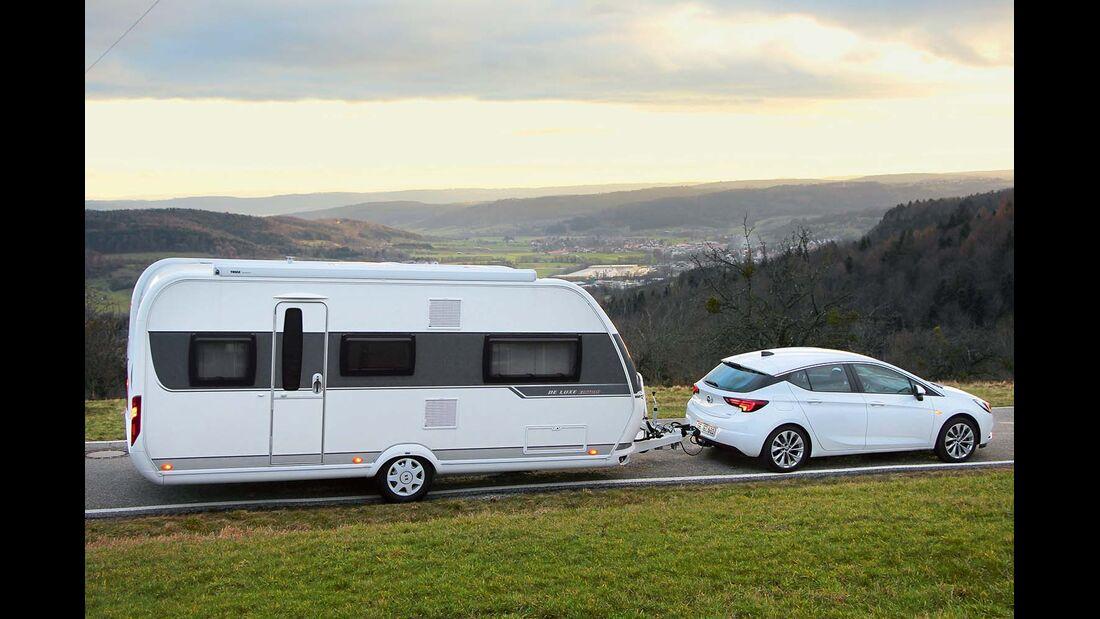 Opel Astra mit Caravan