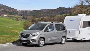 Opel Combo Life im Zugwagen-Test