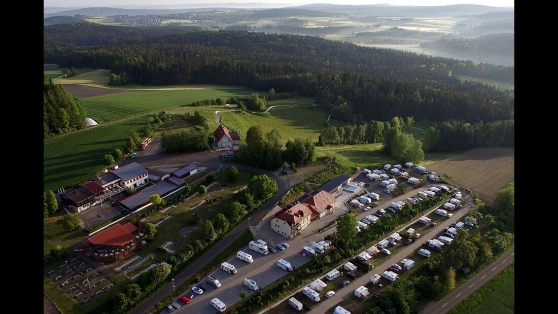 Panorama & Wellness-Campingplatz Großbüchlberg