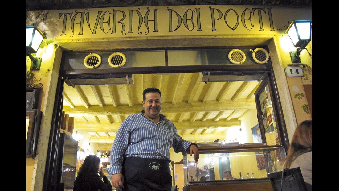 Paolo Paolini verwoehnt mit Leidenschaft.