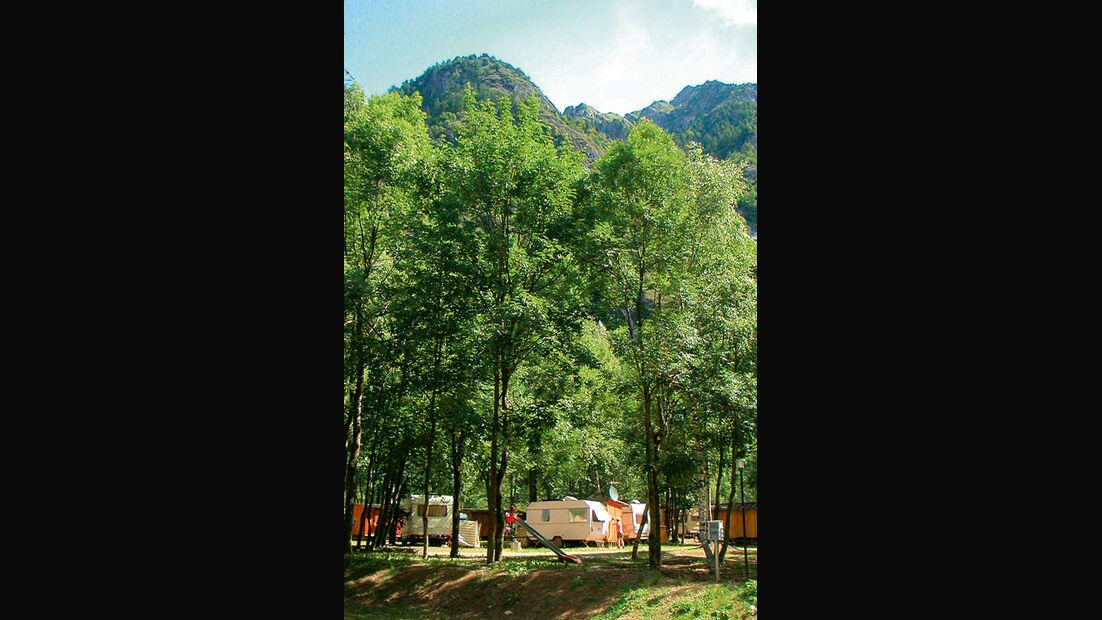 Piemont, Campingplatz