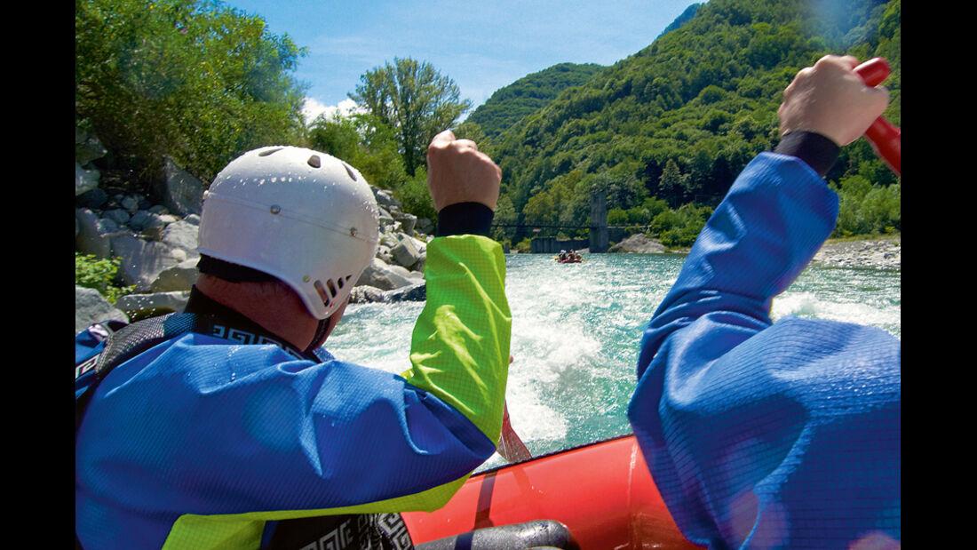 Piemont, Rafting