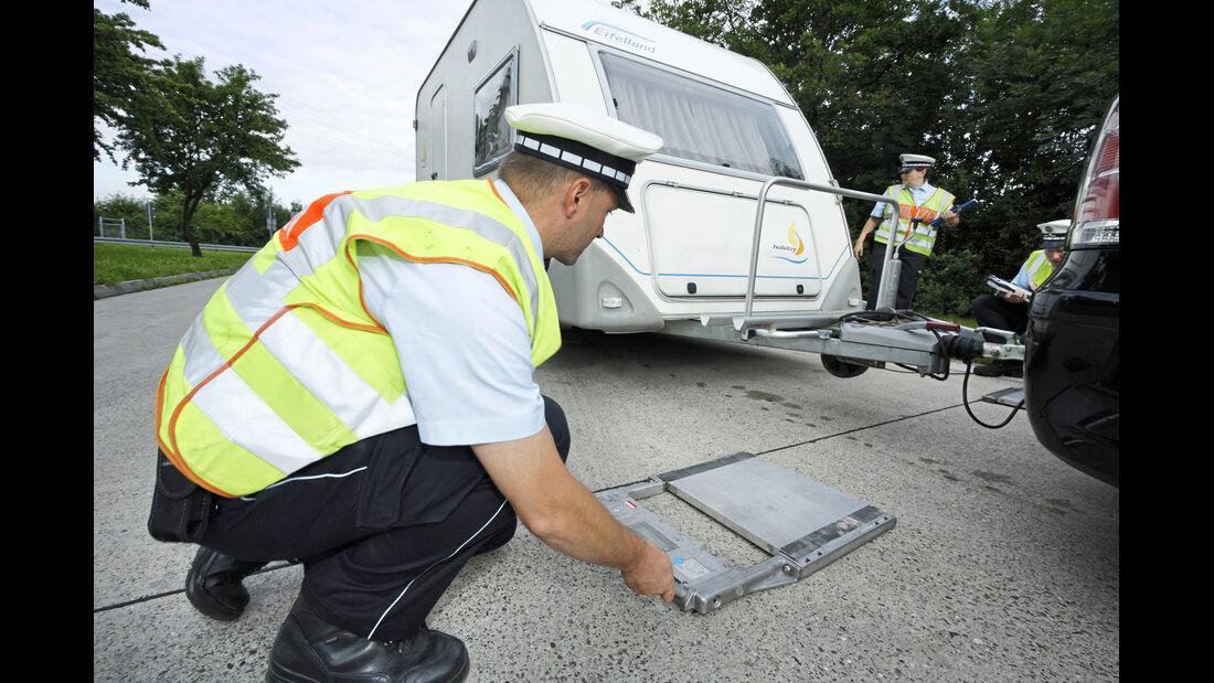 Polizeikontrolle Autobahn A8