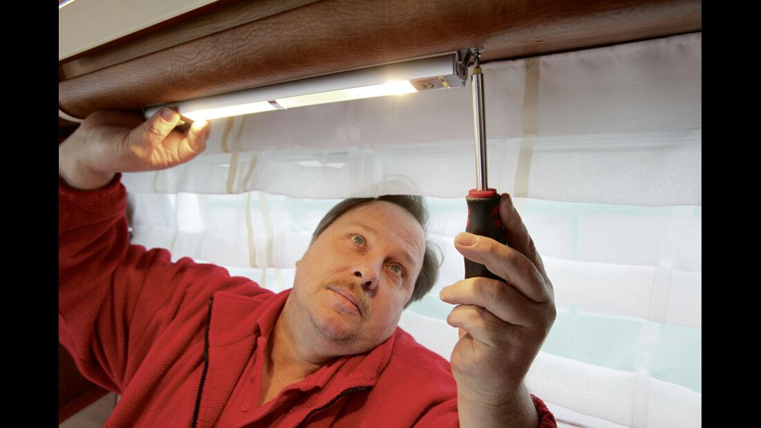 Praxis-Tipp: Innenbeleuchtung
