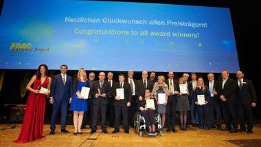 Preisverleihung ADAC Camping Award 2015