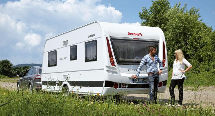 Premiere: Dethleffs Camper, CAR 07/2012 - Heck