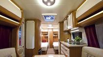 Premiere: Neuheiten auf dem Caravan-Salon, Hobby Excellent 540 WLU