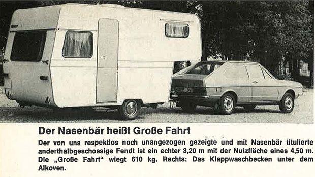 Pressespiegel Caravaning 1974