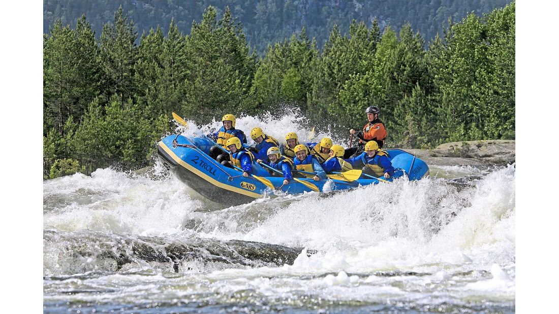 Rafting Otra