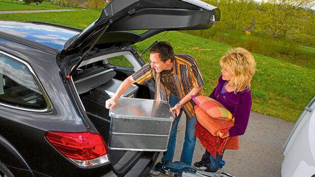 Ratgeber: Beladung, Kofferraum