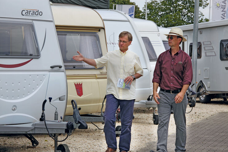Ratgeber: Gebrauchte Caravans
