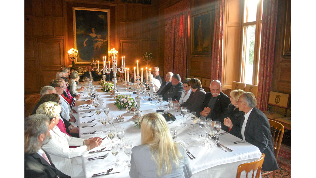 Ratgeber: Geführte Touren, Dinnieren im Schloss