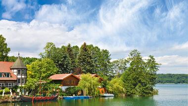 Reise: Mecklenburgische Seen, Altes Zollhaus