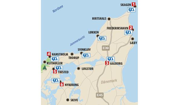 Reise Nordjütland Dänemark