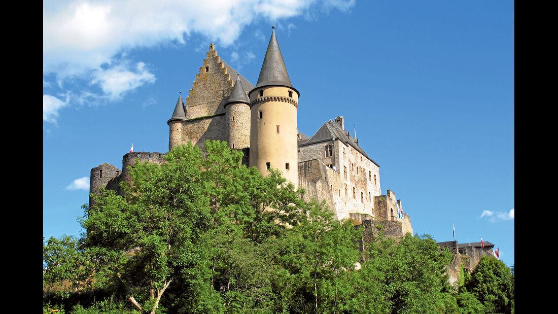 Reise-Service: Ausflugsziele, Burg Vianden