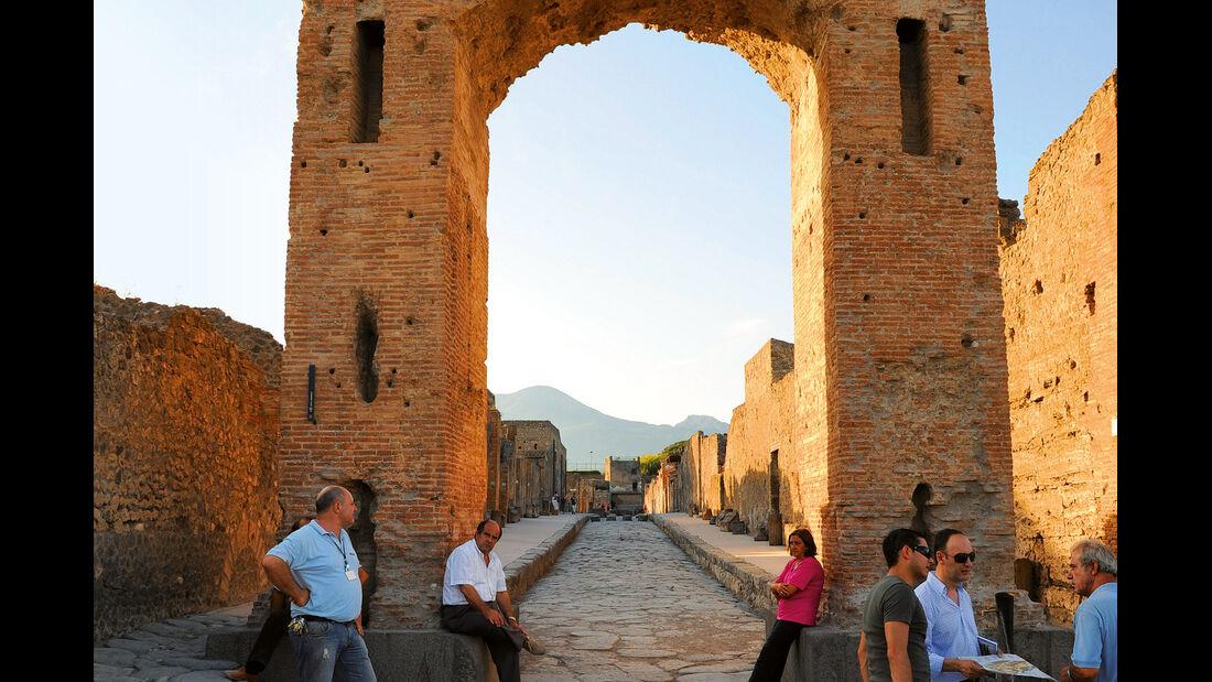 Reise-Tipp: Golf von Neapel, Pompeji