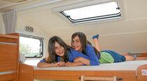 Reisen mit Kindern, Hochbett