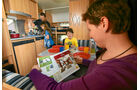 Reisen mit Kindern, Küche