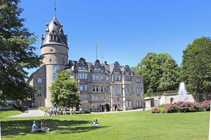 Renaissance-Schloss in Detmold