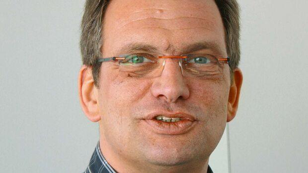 Richard Angerer, Entwicklungsleiter bei Dethleffs