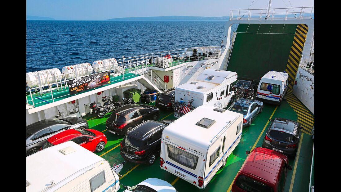 Roll-on-Roll-off-Fähre Kroatien Insel Losinj