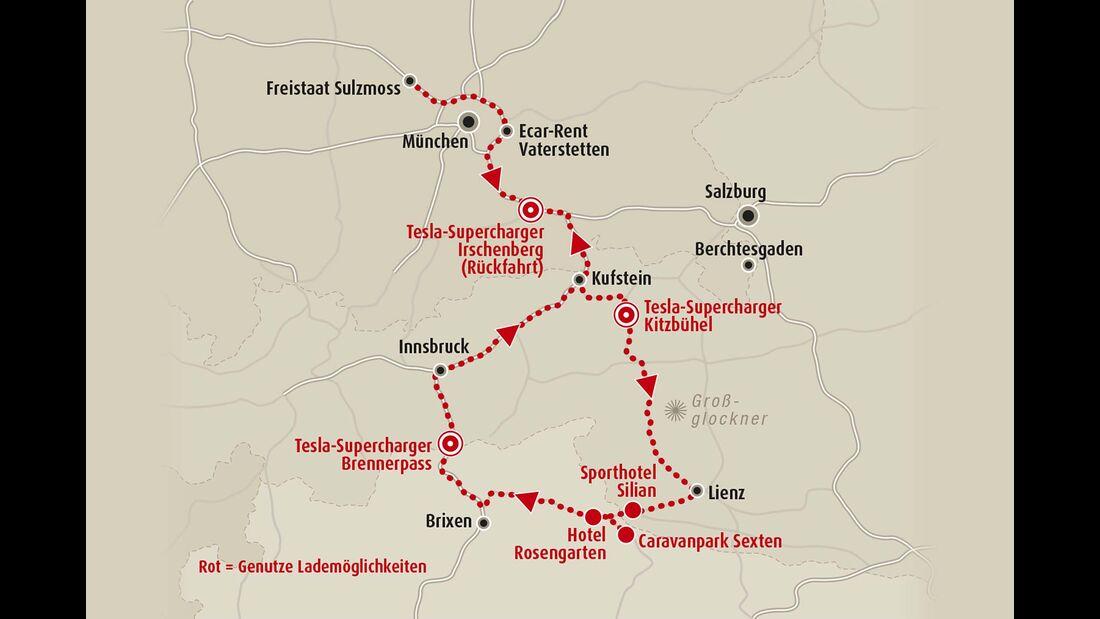 Route Sexten